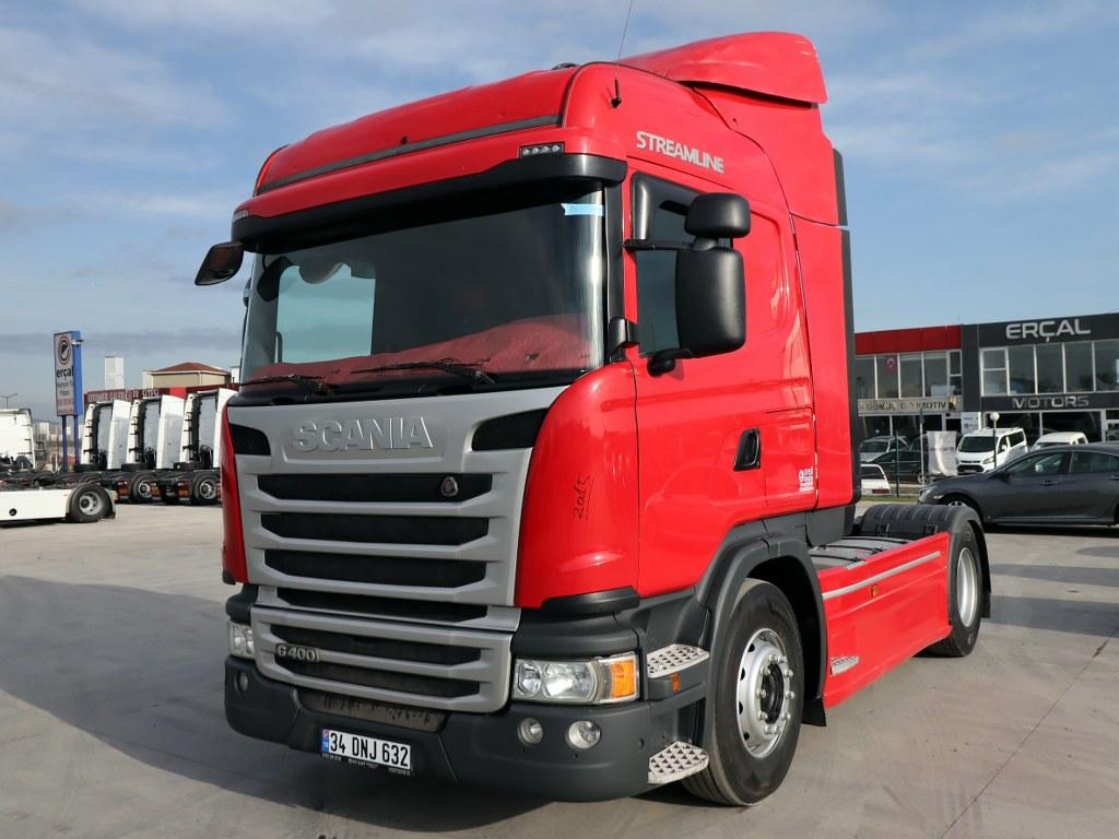 2015 Scania G 400 /Auto Ac Retarder