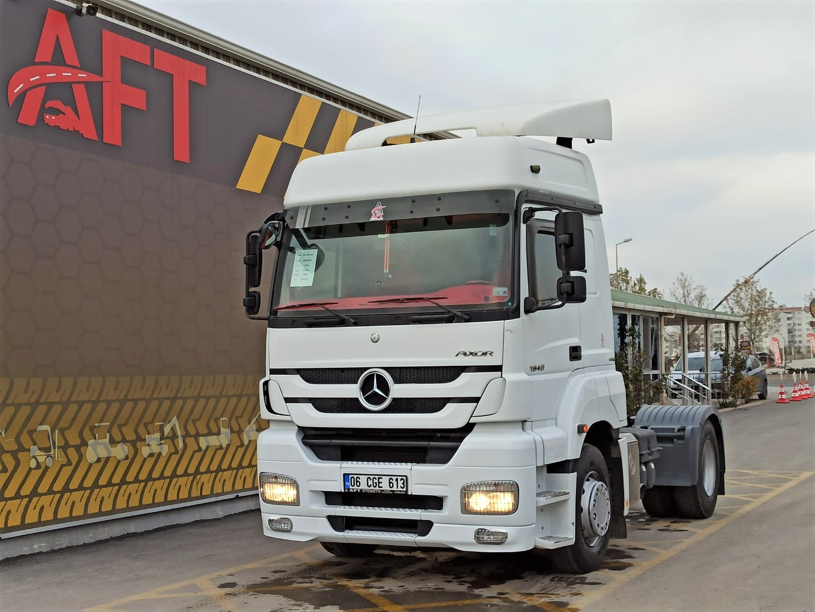2013 MODEL MERCEDES AXOR 1840 E5 AUTO RETARDER