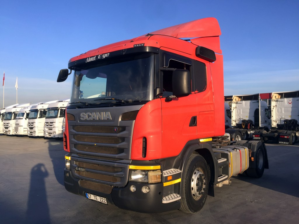 2010 Scania G 420 Retarder