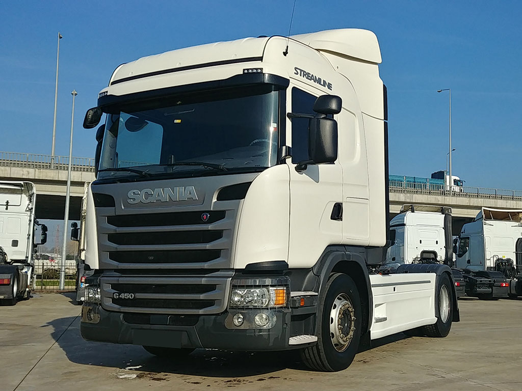 2018 MODEL SCANIA G 450 - RETARDER - AIR CONDITIONING