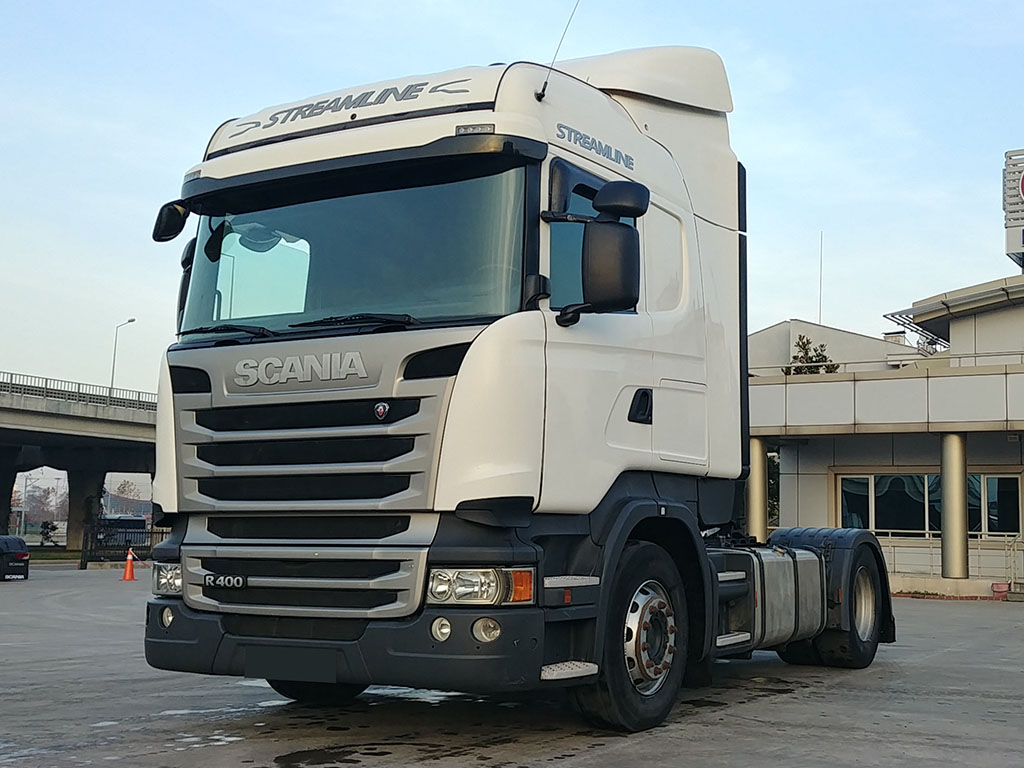 2014 MODEL SCANIA R 400 STREAMLINE - RETARDER - AIR CONDITIONING