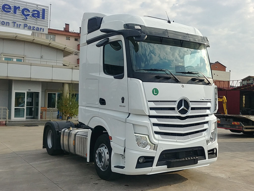 2020 ACTROS 1848 - RETARDER - AIR CONDITIONING - MİRROR GLASS  - Erçal Trucks