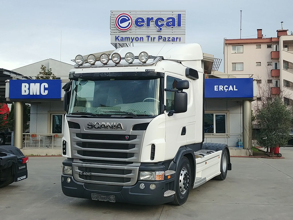 2013 MODEL SCANIA G 400 - RETARDER - AIR CONDITIONING - 6 NEW TIRES