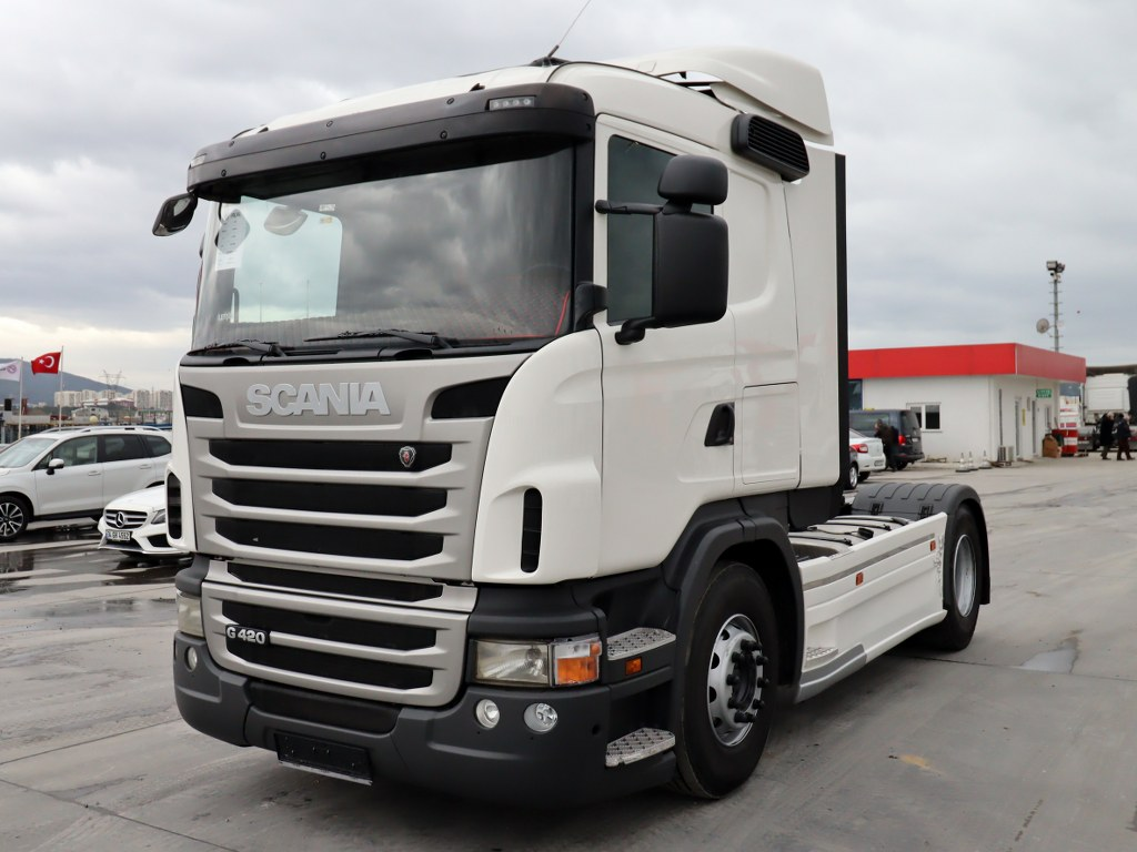 2012 MODEL SCANIA G 420 - RETARDER - EURO 5