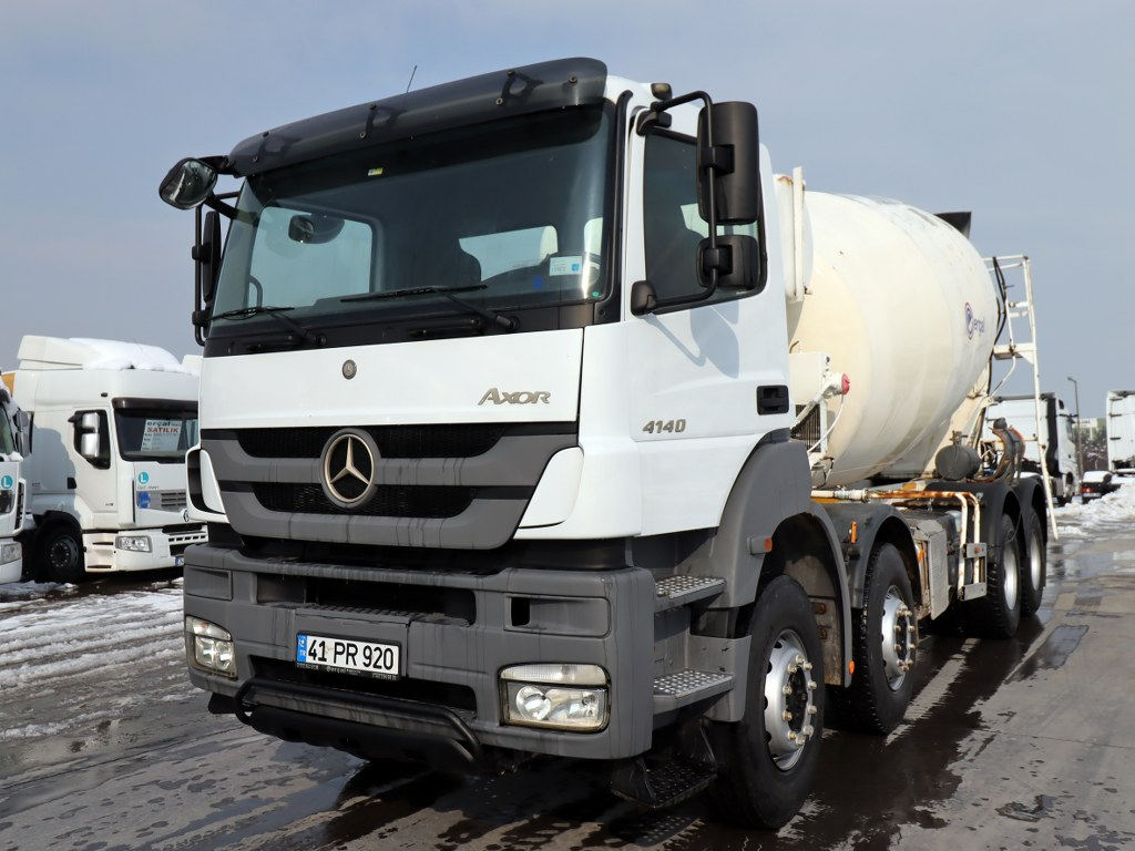 2015 Mercedes Axor 4140 Ac Concrete Mixer