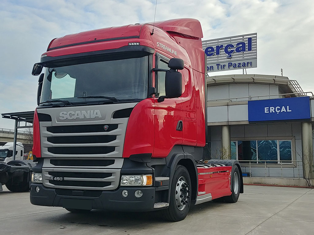 2017 MODEL SCANIA R 450 STREAMLINE - ERROR FREE