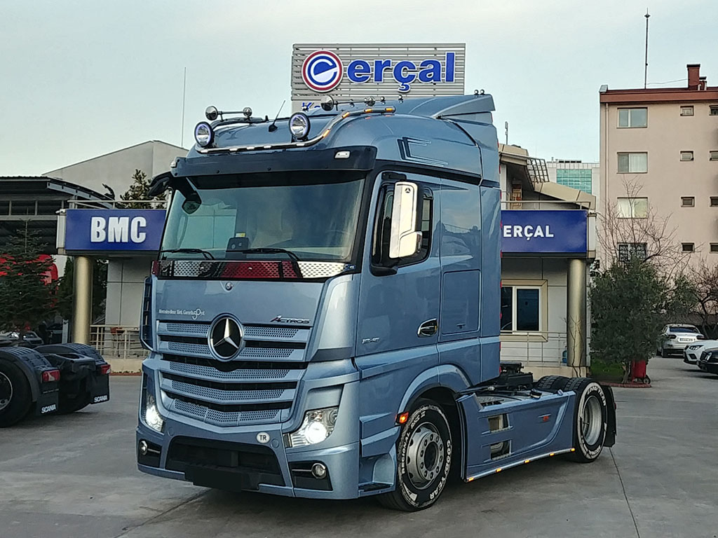 2017 ACTROS 1845 - AIR CONDITIONING - REFRIGERATOR - DOUBLE TANK - ERROR FREE