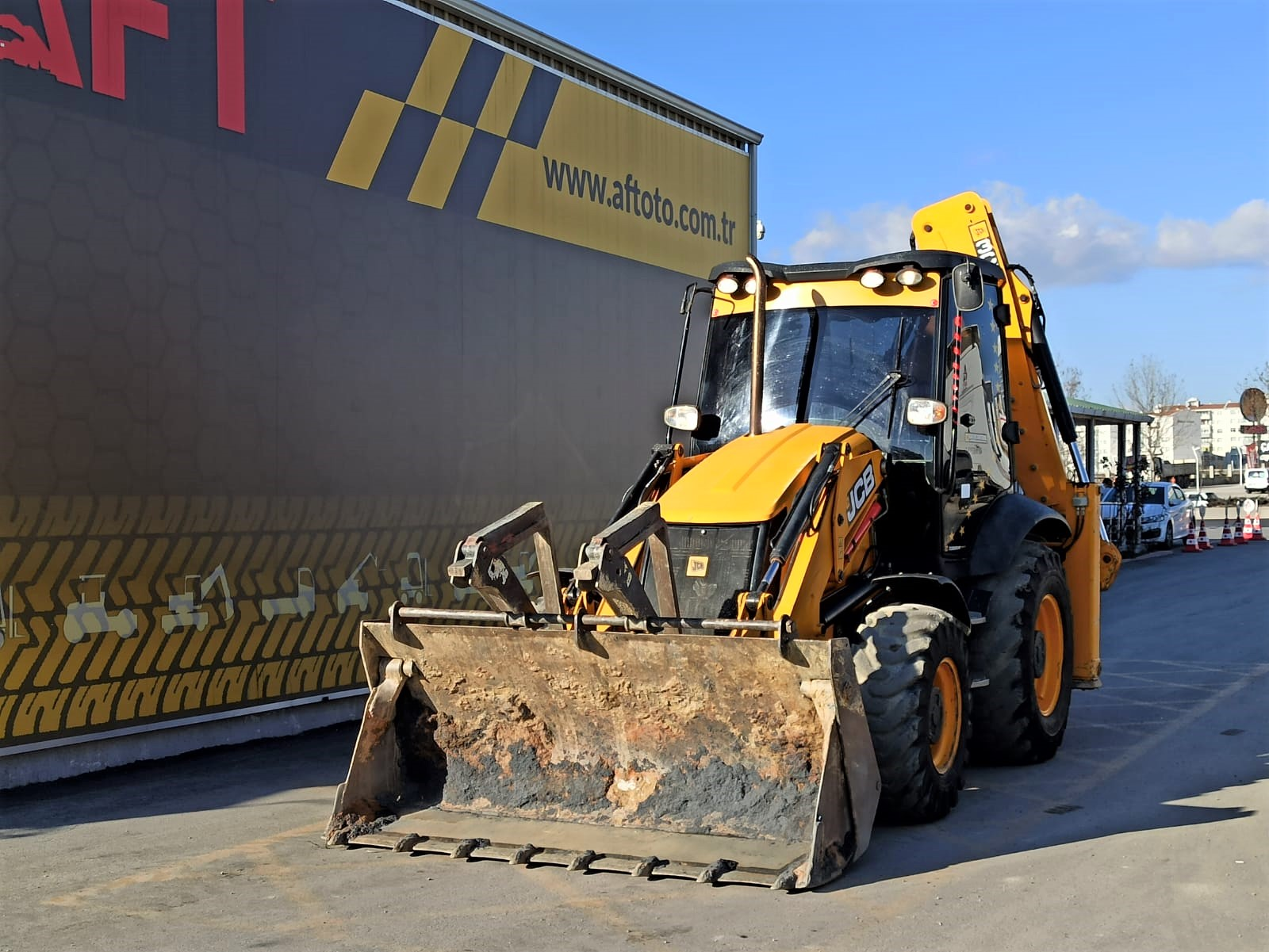 2015 MODEL JCB 3CX EXTENSIBLE BOOM BECKHOE LOADER