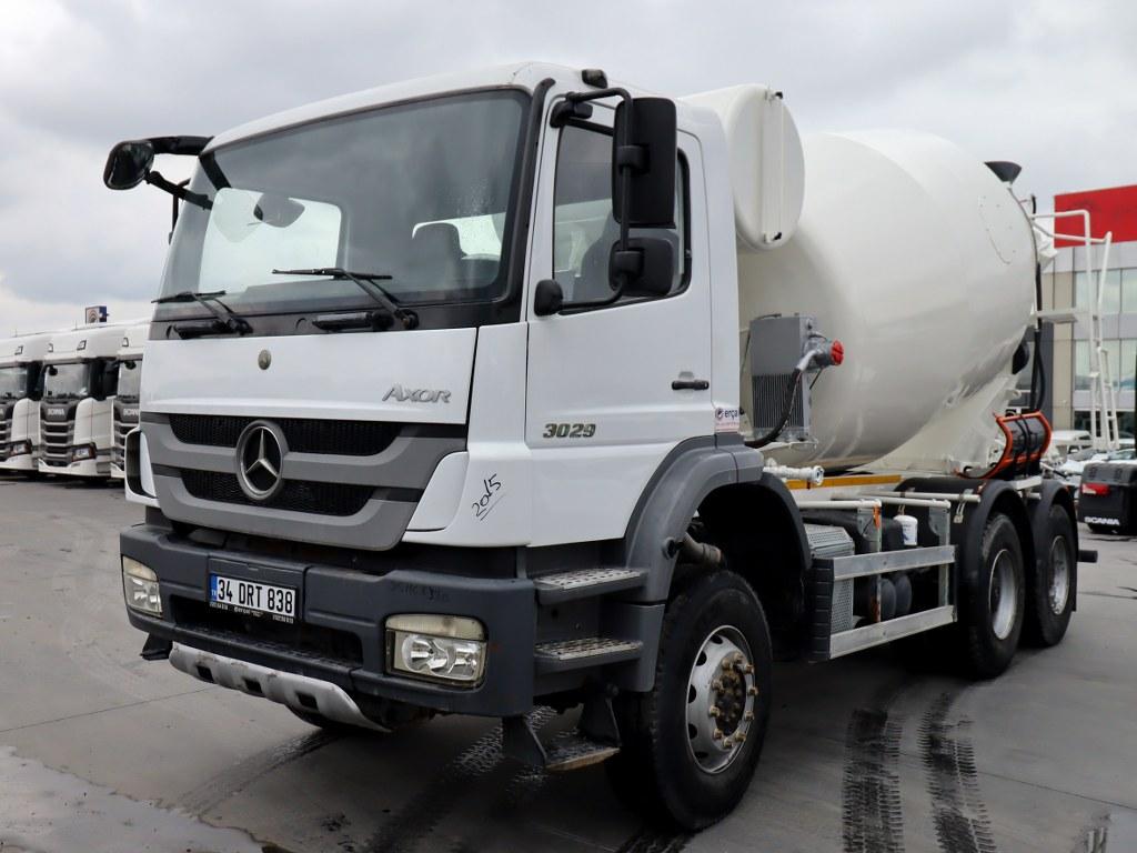 2015 Mercedes Axor 3029/Ac Concrete Mikser