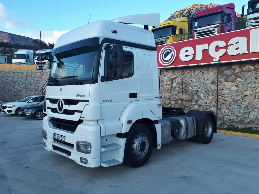 2014 Mercedes Axor 1840 Automatic Air Conditioner Retarder Double Tank