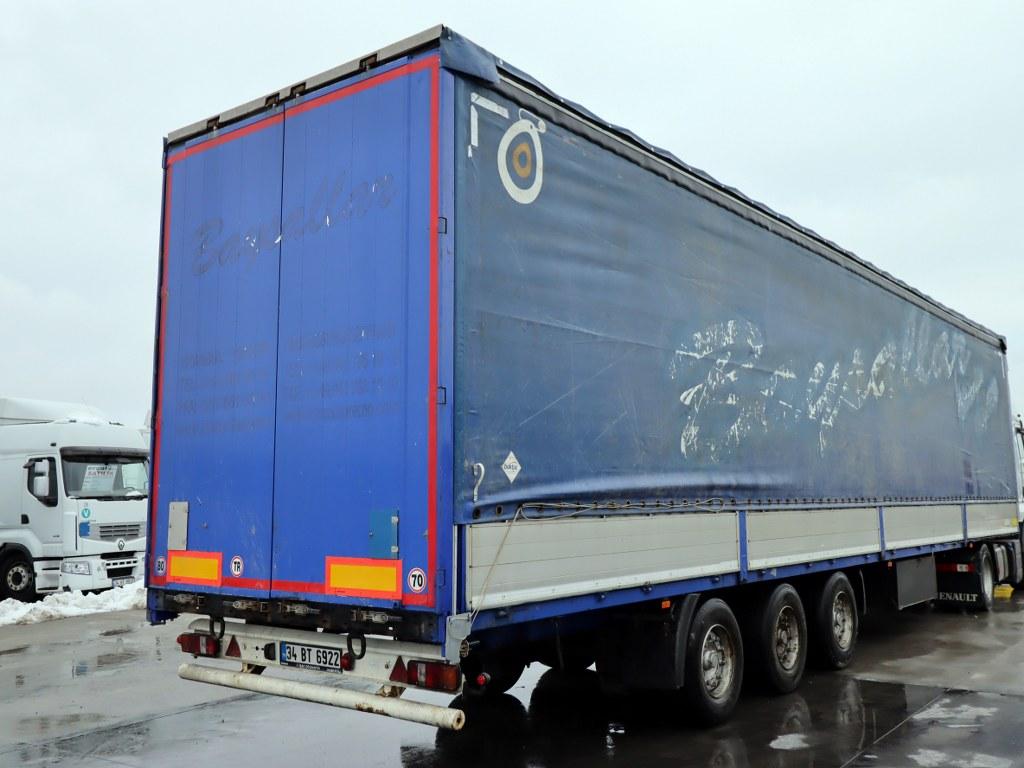 2005 Krone/Midilli- Slending Tent-Bpw Axle