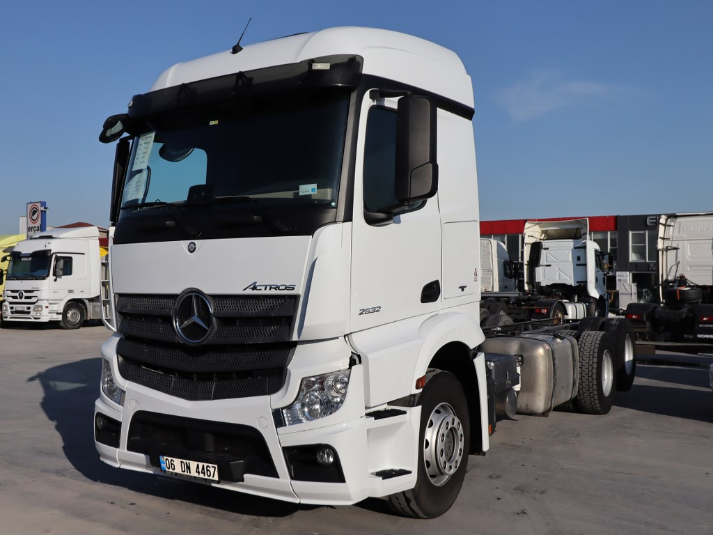 2017 Mercedes Actros 2632/Auto Ac Chassis