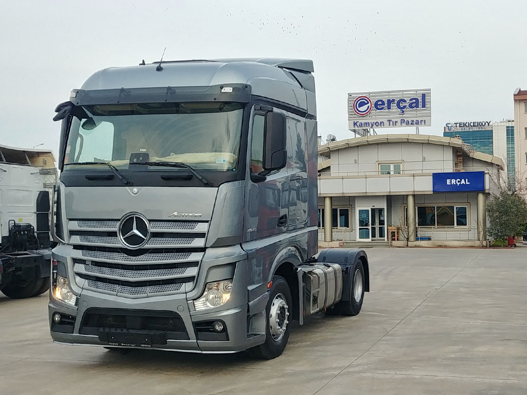 2016 MERCEDES ACTROS 1845- AIR CONDITIONING - ADR - STORAGE-FREE