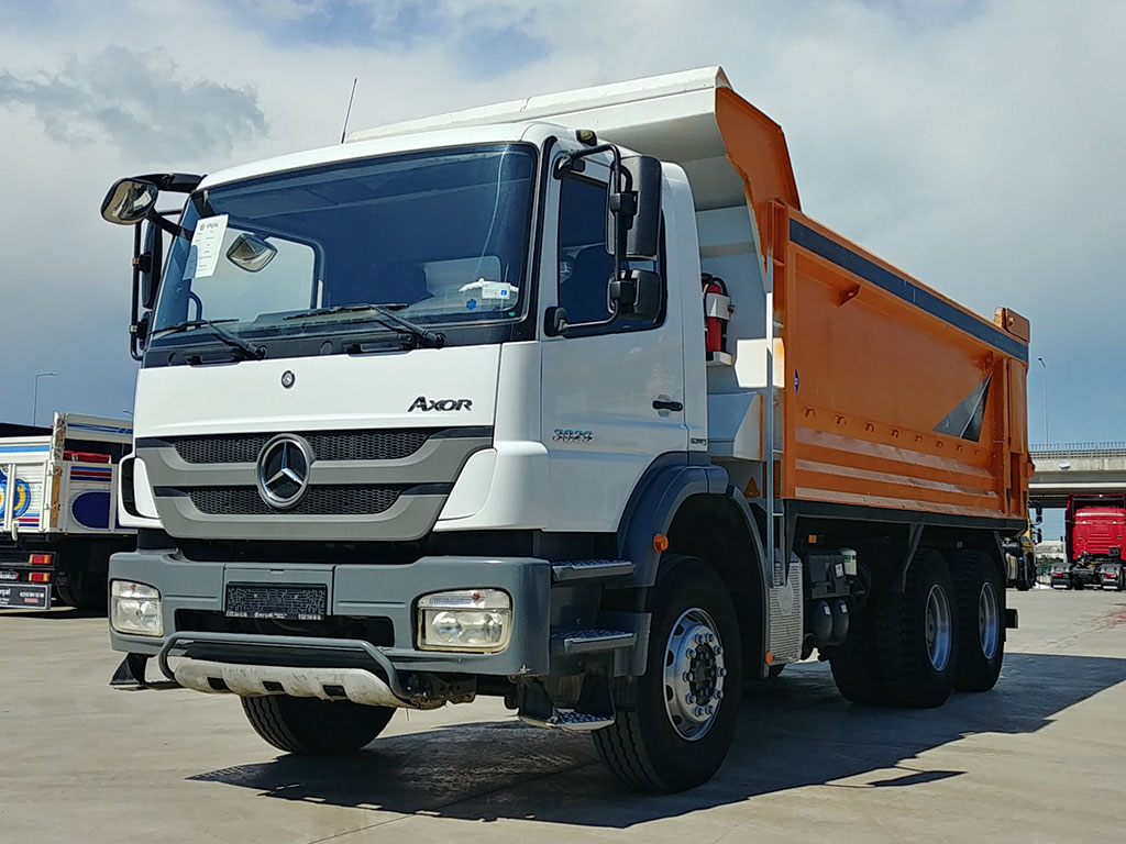 2015 MODEL MERCEDES AXOR 3029 - HARDOX - ERROR FREE   - Erçal Trucks