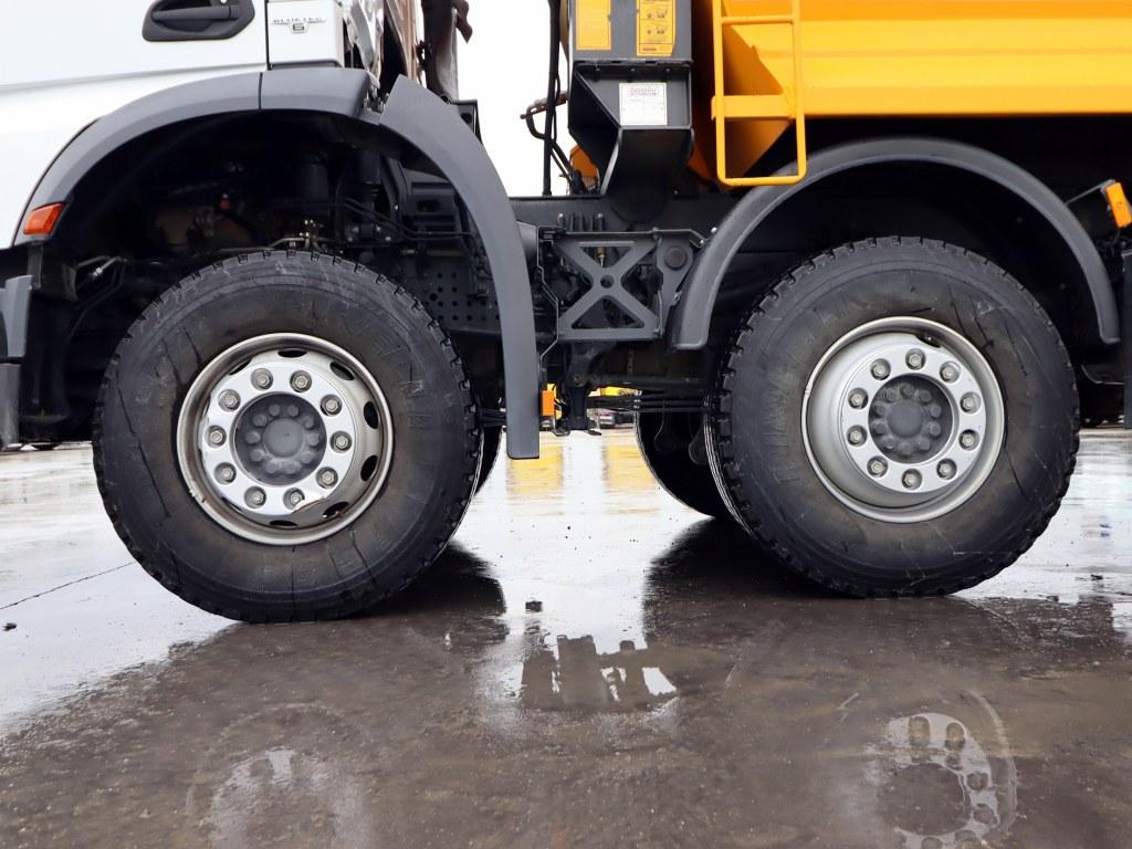 2020 Mercedes Arocs 4142 Auto Ac Hardox Tipper  - Erçal Trucks