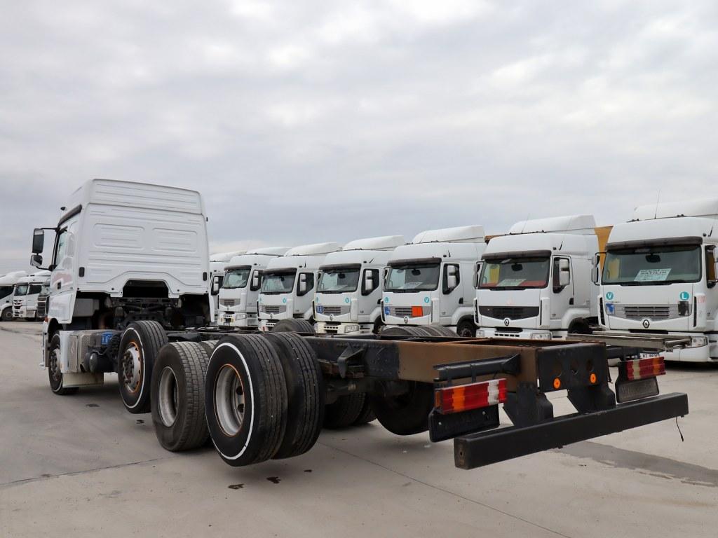 2015 Mercedes Axor 3240/Auto Retarder Chassis  - Erçal Trucks