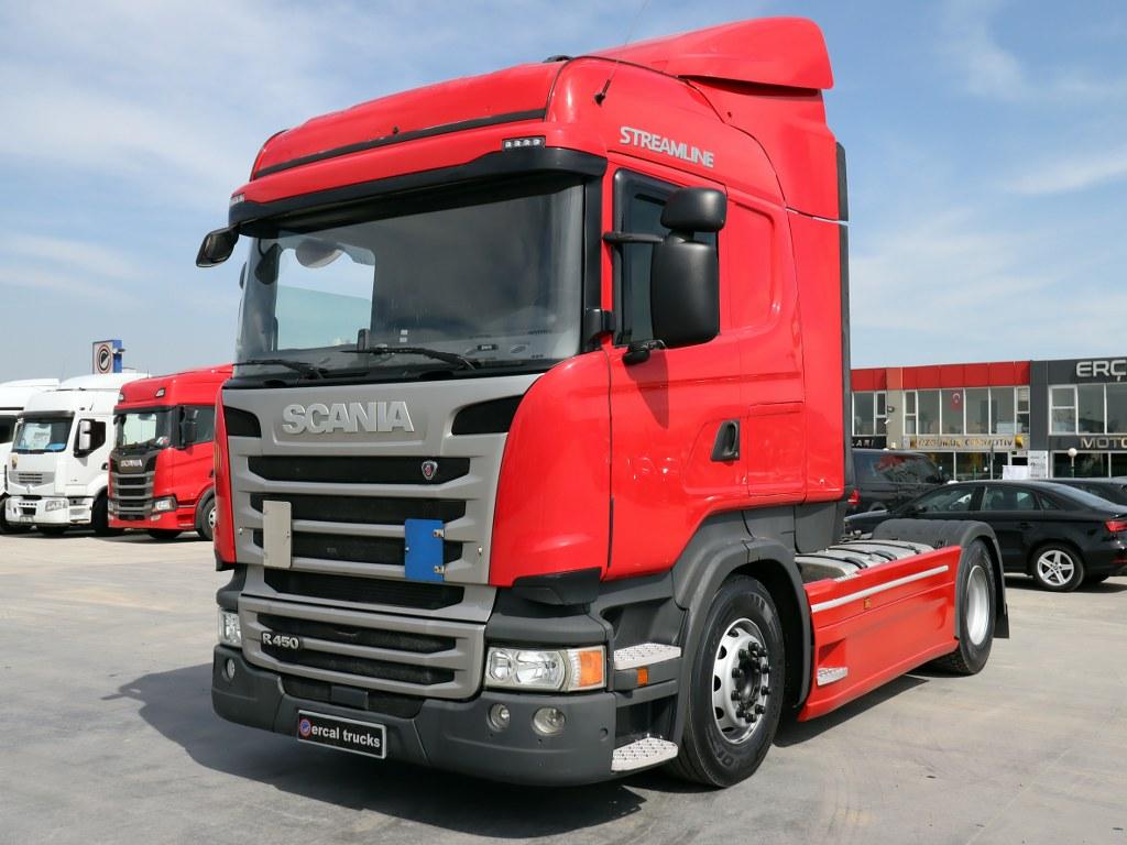 2018 Scania R 450/Otomatik Klima Çift Depo-Retarder