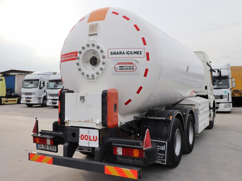 2014 ISISAN ADR ALUMINUM TANKER 23.800 LT tanker