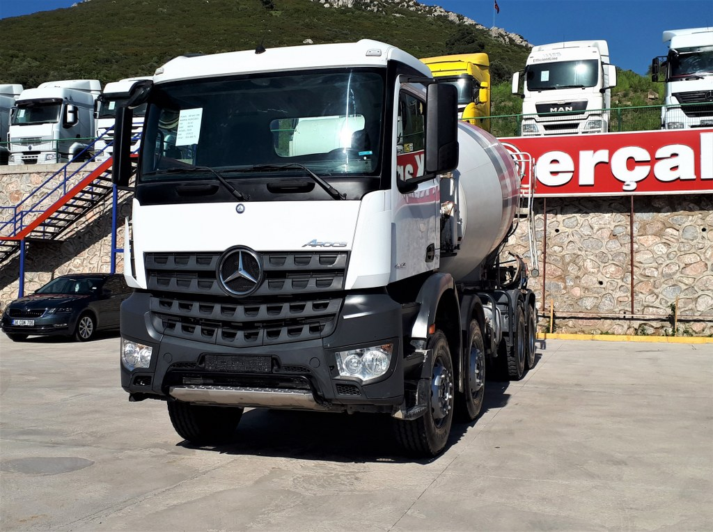 2018 Mercedes Arocs 4142 İmer Mikser Auto. Hungry