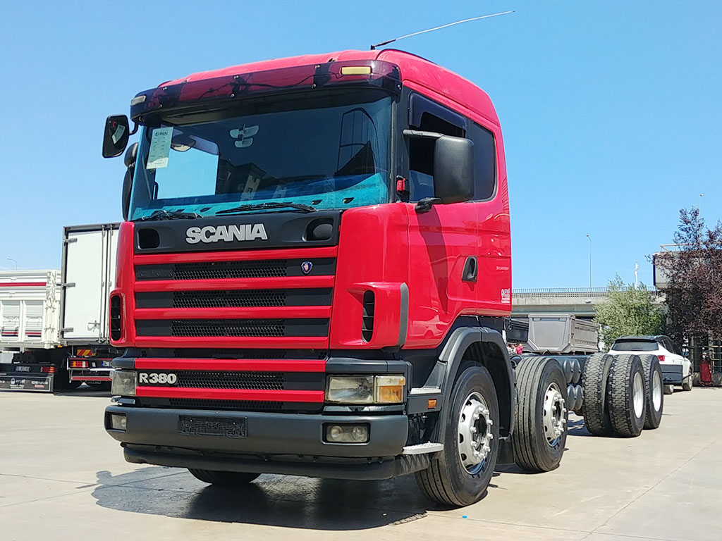 2007 MODEL SCANIA G 380 CHASSIS - RETARDER
