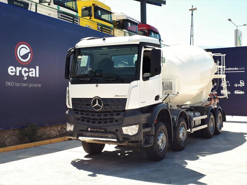 2019 Mercedes Arocs 4142 İmer Mixer Auto. Hungry