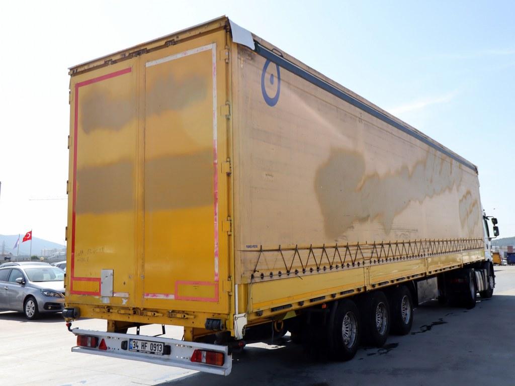 2011 Tırsan/Midilli-Slending Tent  Saf Axle